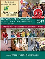 Cover of 2017 Directory of Resources for Older Adults
