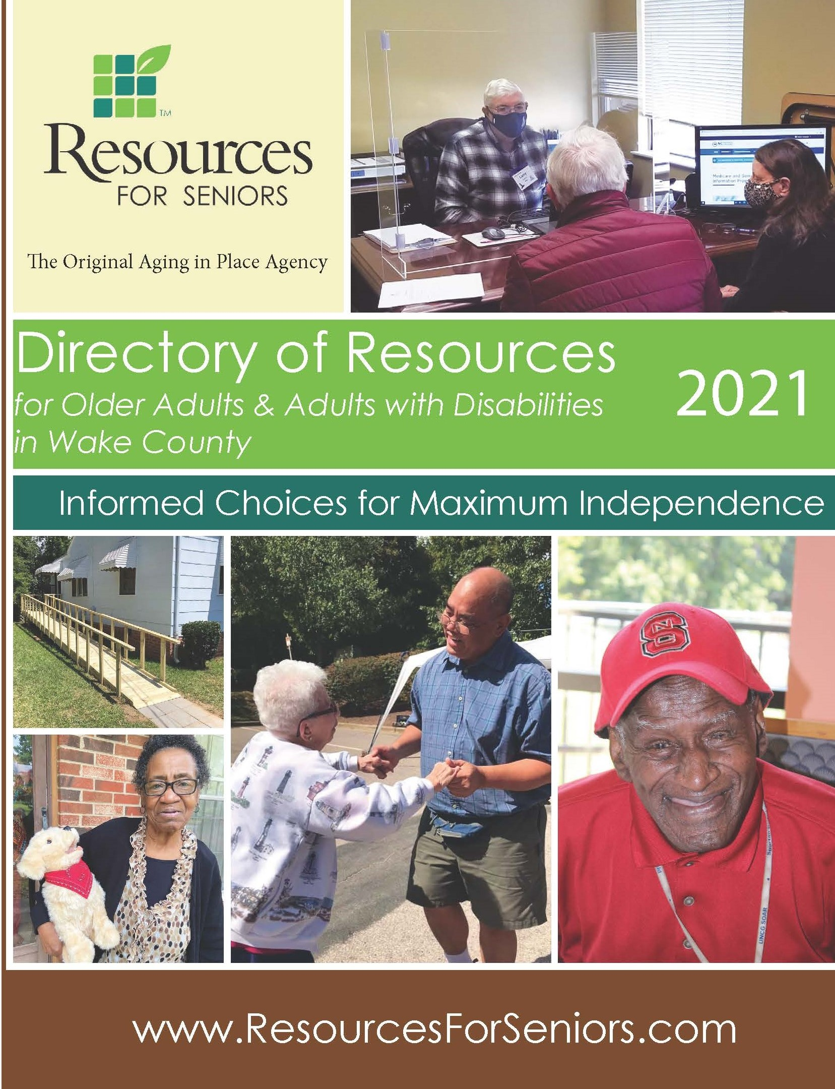 Cover of 2021 Directory of Resources for Older Adults